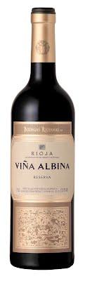 VINA ALBINA červené víno suché 2014 Reserva Rioja